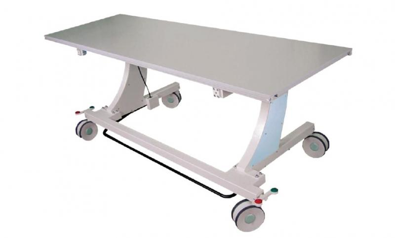 FI-Z4 Mobile X-Ray Table 4-way float tabletop fixed height u-arm