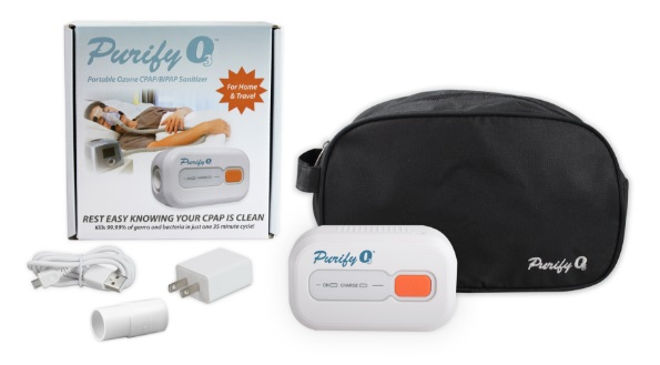 Purify O3 Portable CPAP/BiPAP Ozone Sanitizer Kit