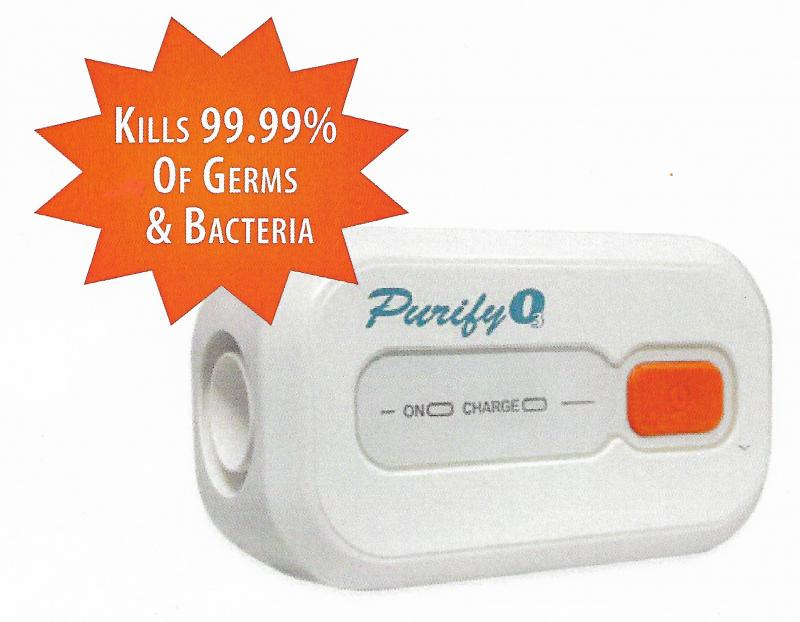 Purify O3 Portable G5 machine and applicator Ozone Sanitizer Kit