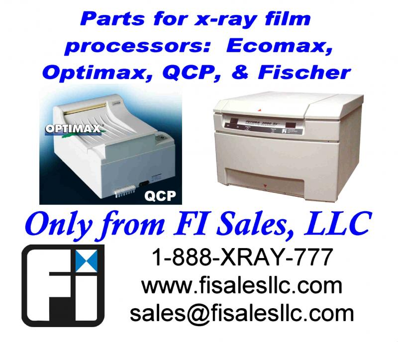 summit qcp optimax ecomax fischer x-ray processor parts available from fi sales