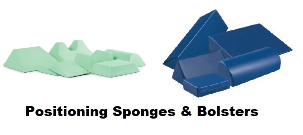 patient positioning sponges and bolters foam