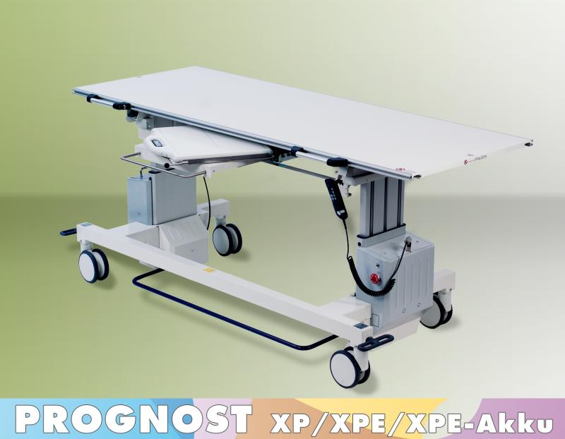 Protec Prognost Mobile X-Ray Tables XP, XPE, XPE-akku with elevation